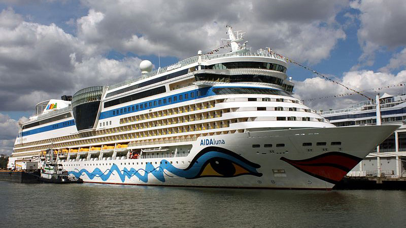 Cruise Ship AIDAluna