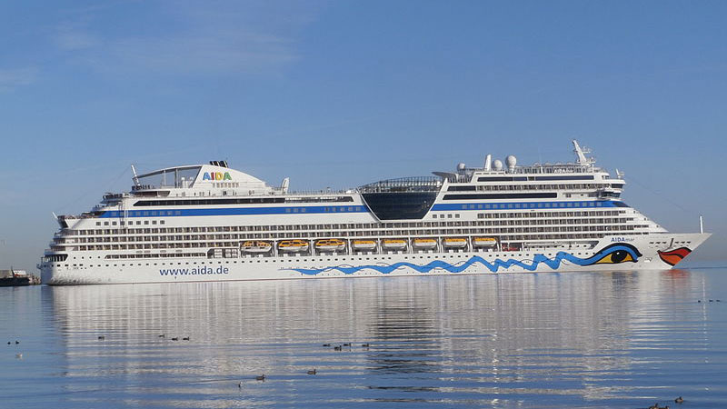 Cruise Ship AIDAmar
