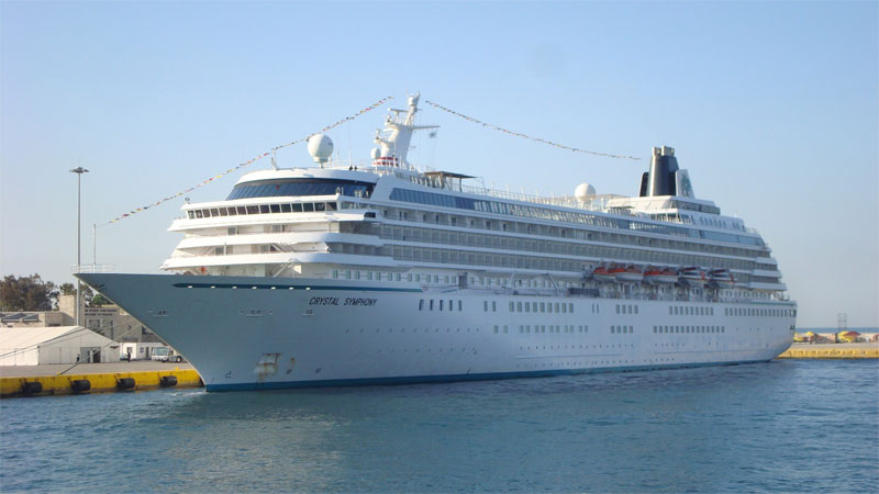 Cruise Ship Crystal Symphony