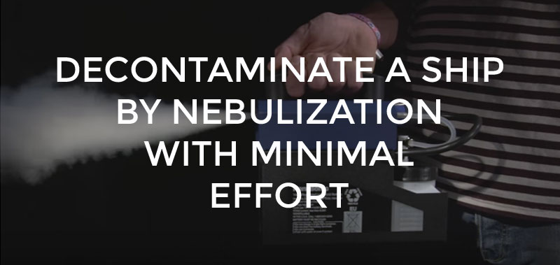 Decontamination by nebulization